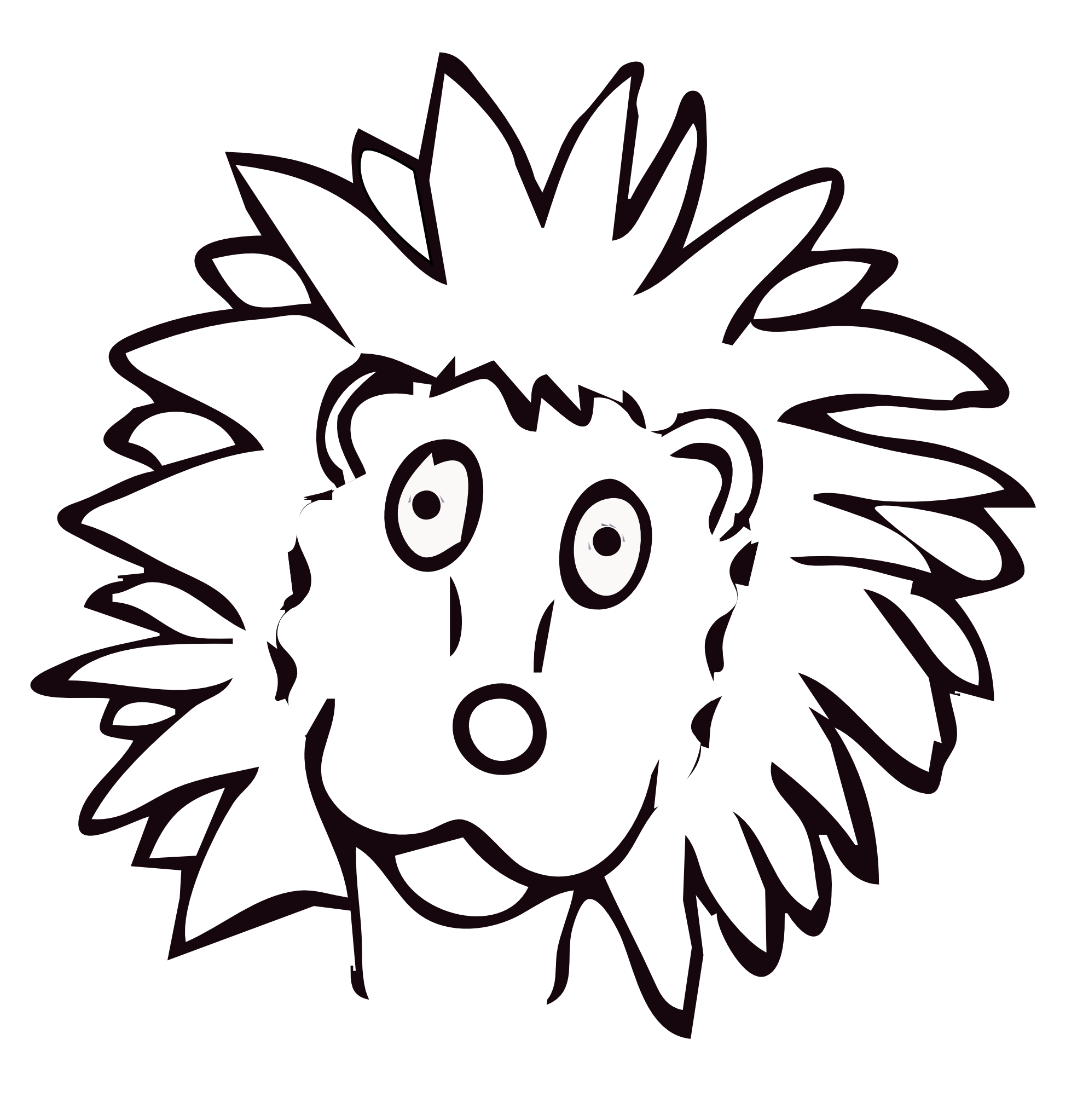 Leo The Lion Coloring Pages Leo Farbe Drawn Lion Art