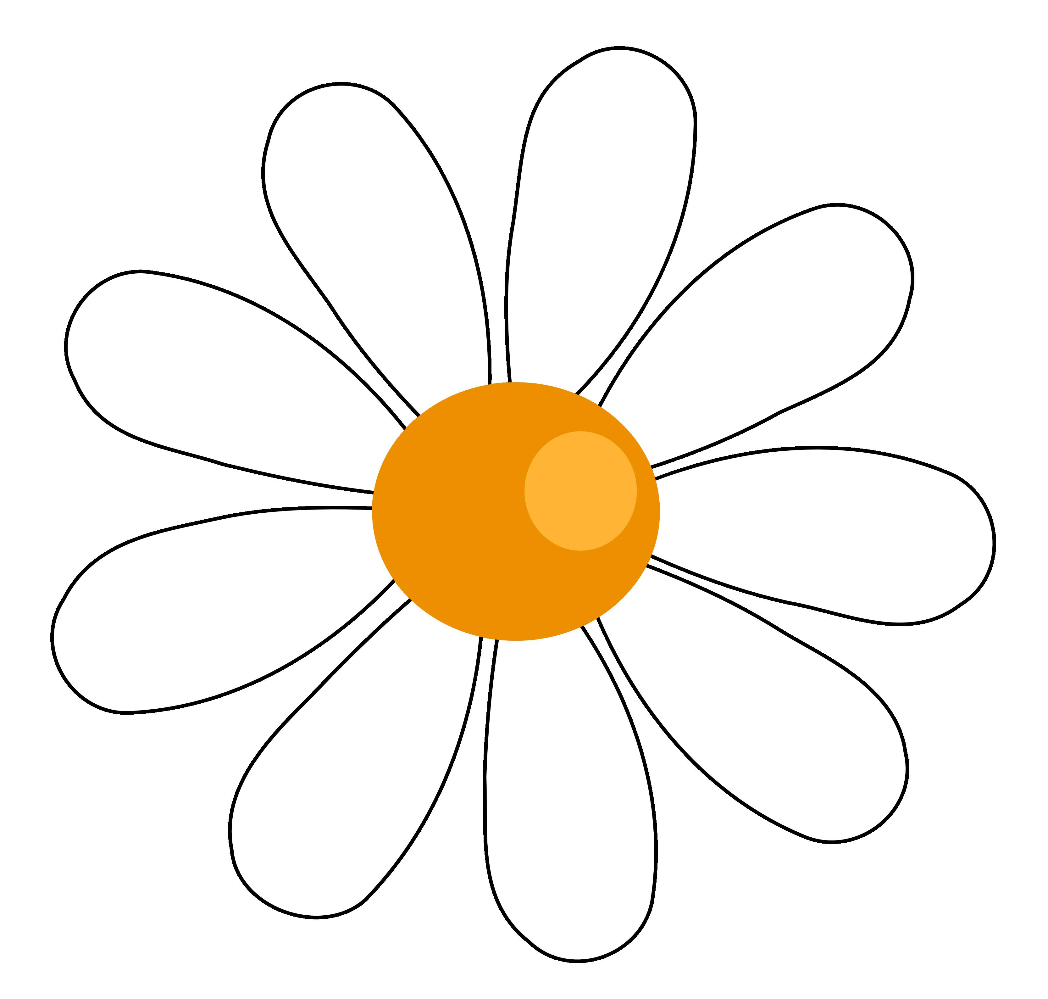 Рисунок ромашки