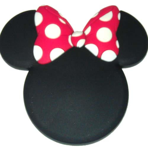 Your WDW Store - Disney Magnet - Mickey Mouse Icon - Minnie Mouse Bow