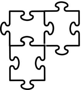Blank Puzzle Template Picture