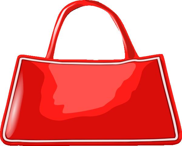 Handbag clip art - vector clip art online, royalty free & public ...