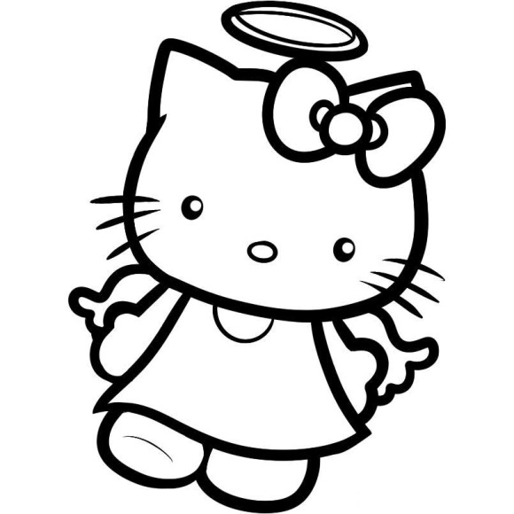 How To Draw Easy Angels For Kids