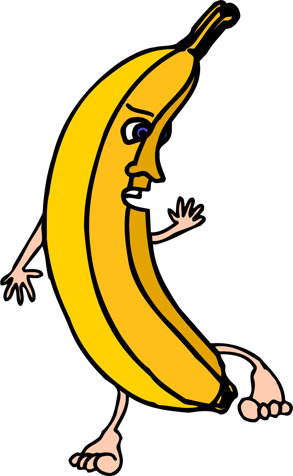 Displaying 19> Images For - Banana Peel Clip Art...