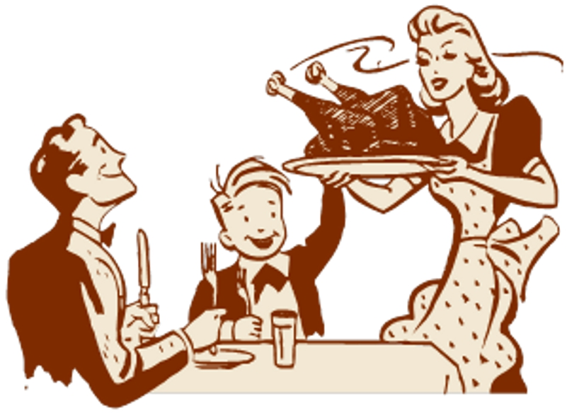 Family Dinner Clipart - ClipArt Best
