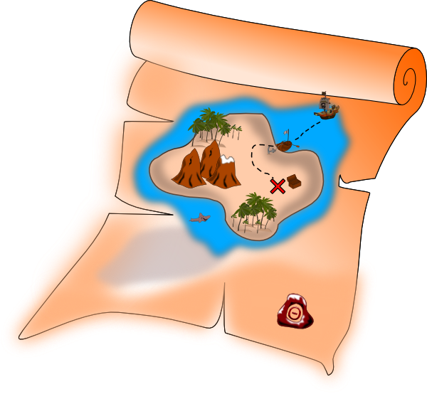 Clip Art Treasure Map - ClipArt Best