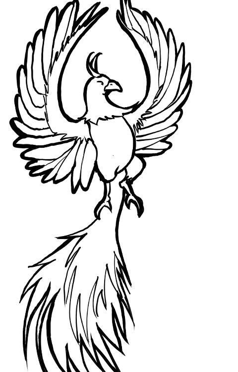 Draw a Phoenix | KalaaLog - ClipArt Best - ClipArt Best