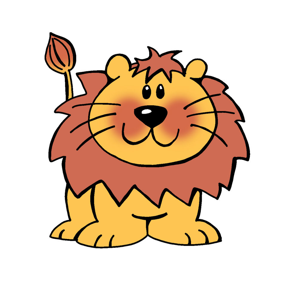 Cute Tiger Clipart Free