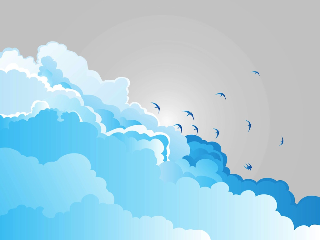Небо облака png