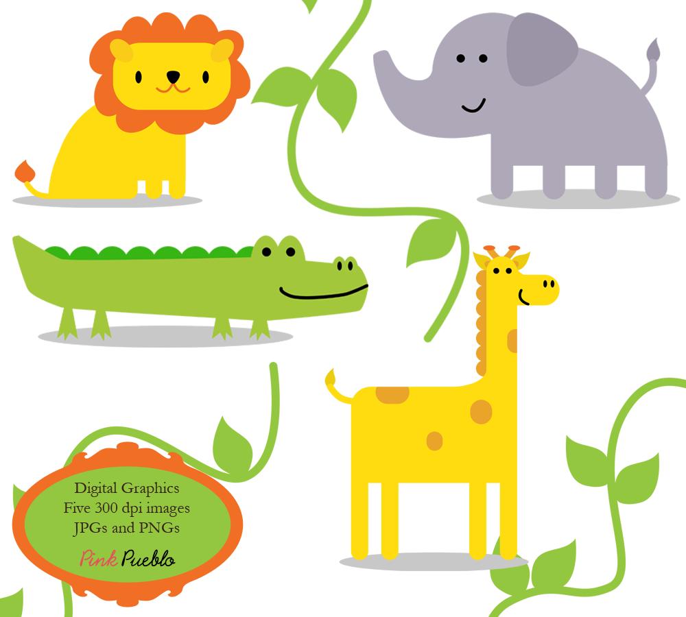 jungle print clip art - photo #29