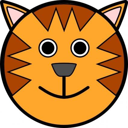 baby tiger clipart clipart best Tiger Mascot Clip Art tiger face images clip art