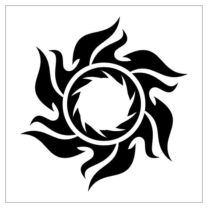 Sun Design Images Tribal Sun Tatt...