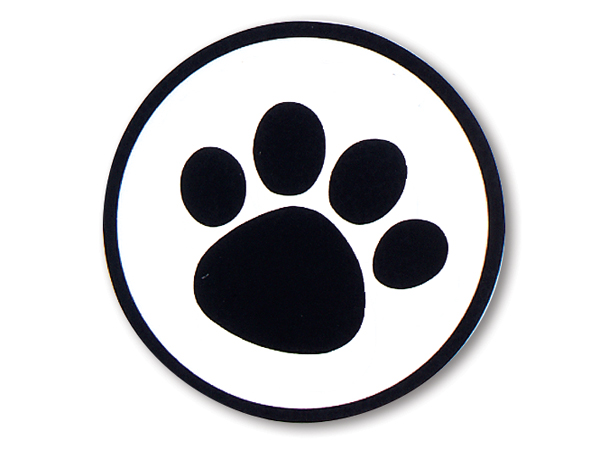 dog paw prints in - photo #32