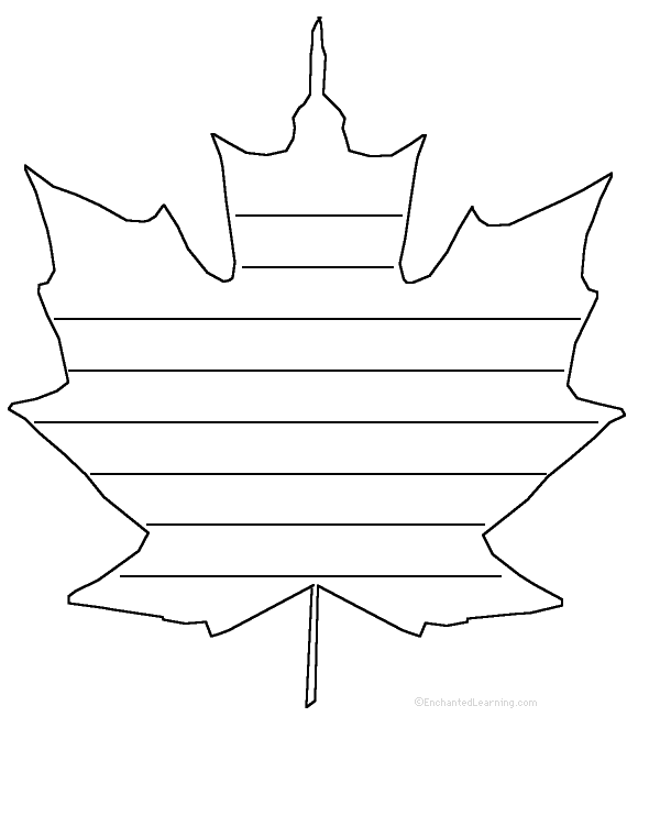 Maple Leaf Template - ClipArt Best