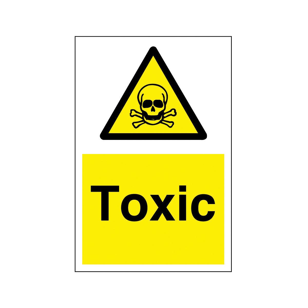 Toxic Safety Sign - Hazard & Warning Sign from BiGDUG UK ...