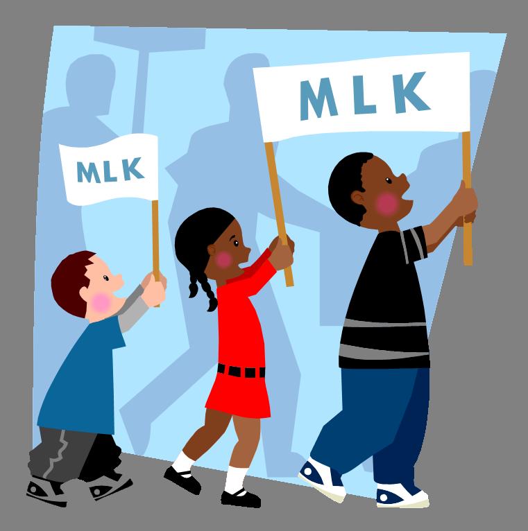 MLK Parade Clip Art