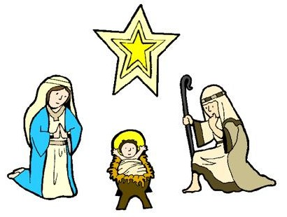 Christmas Clip Art Nativity - ClipArt Best