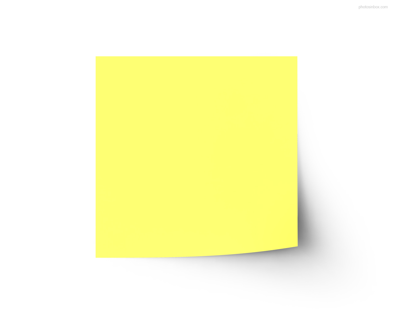 Sticky Note Vector - ClipArt Best