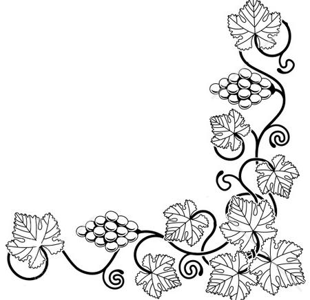 Grape Vine Clip Art Free - ClipArt Best