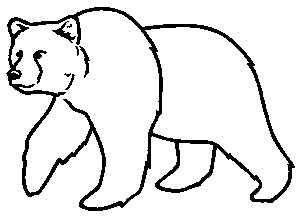 Bear Line Drawing on chinese symbols and meanings s