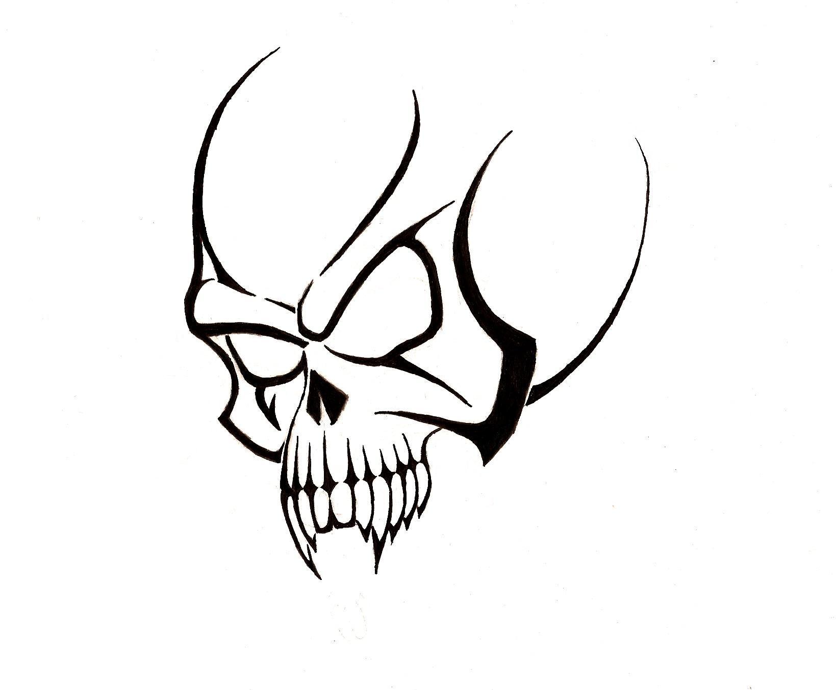free skull tattoo designs to print clipart best. Black Bedroom Furniture Sets. Home Design Ideas