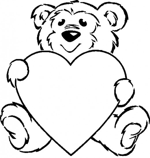 heart shape coloring pages | Printable Heart Shape - ClipArt Best