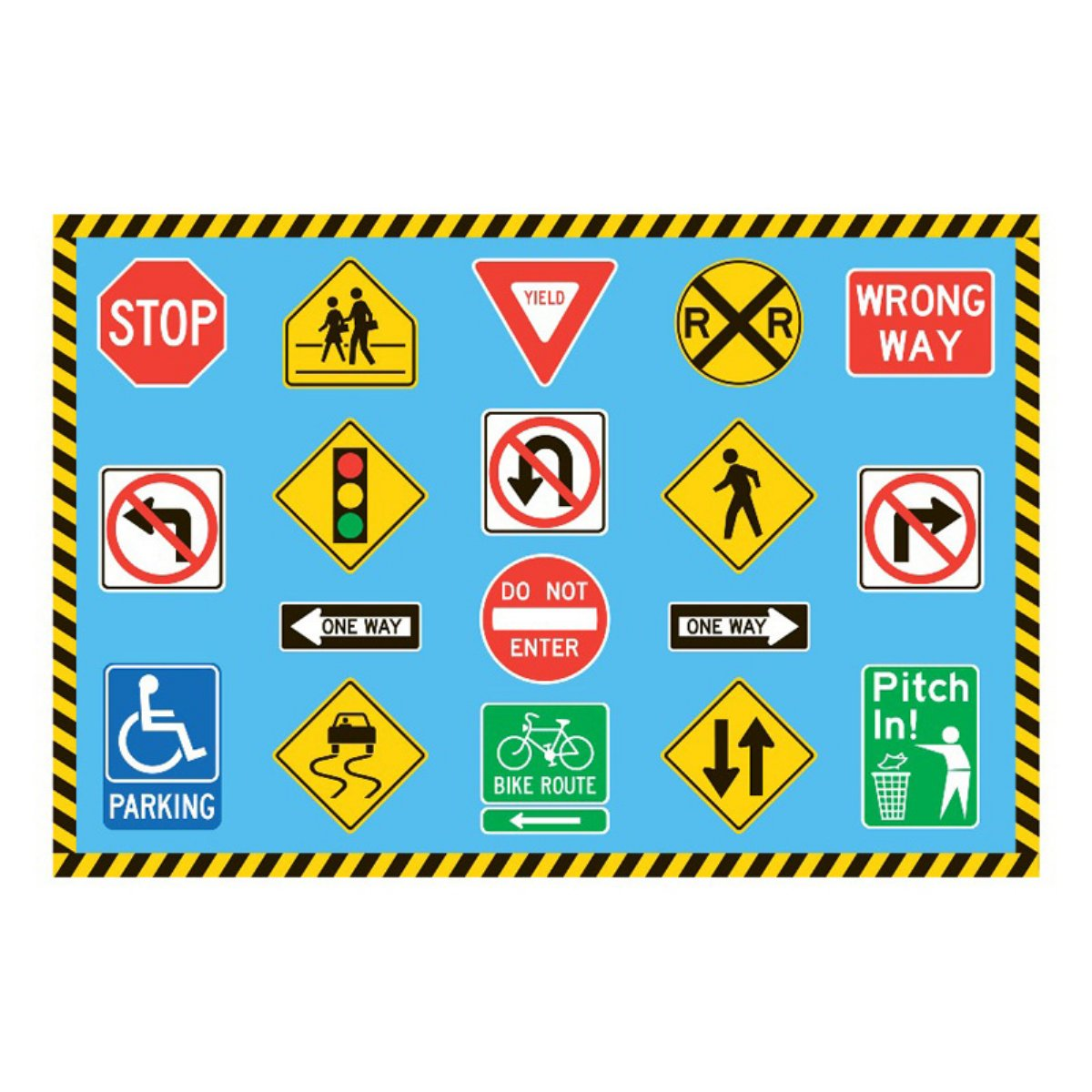 Picture Of Traffic Signs Clipart Best