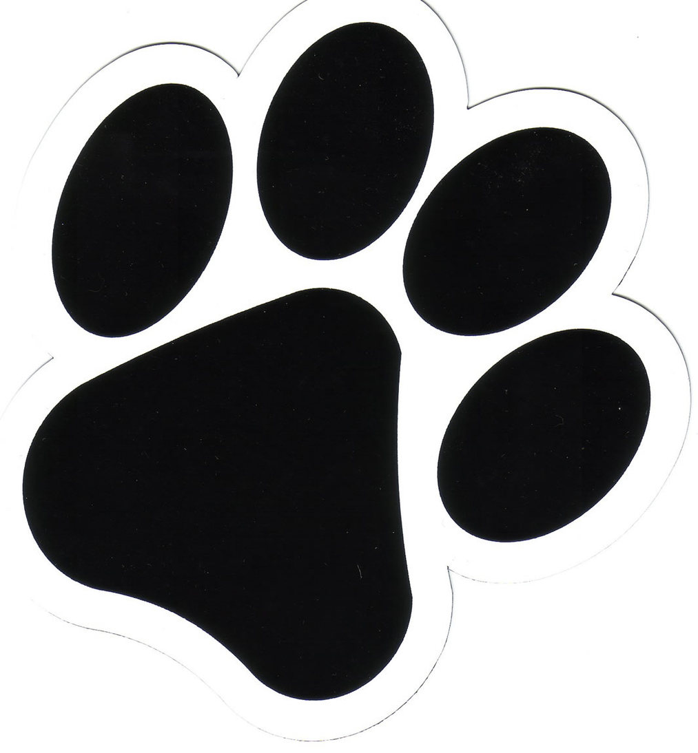 Dog Paw Print Logo Clipart - Free to use Clip Art Resource