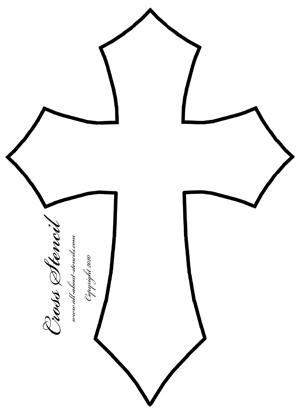 Accomplished image intended for printable crosses