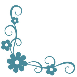 Simple Flower Corner Designs ClipArt Best