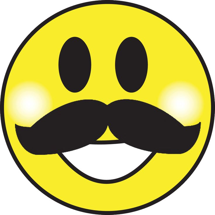 Smiley Face With Sunglasses And Moustache - ClipArt Best