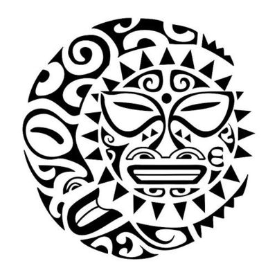 Sun And Moon Tattoo - ClipArt Best