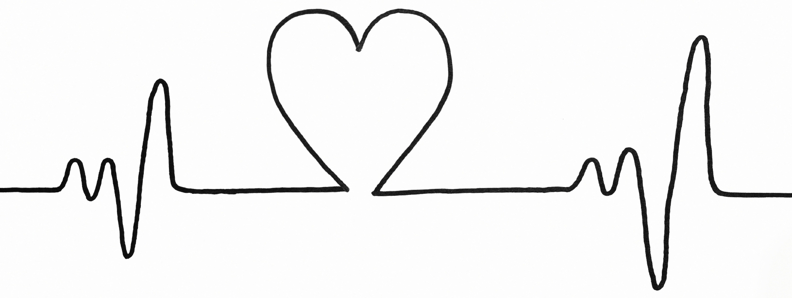 Heartbeat Line Drawing: Images Heartbeat