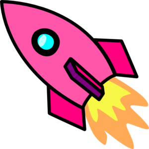 Free cartoon rocket ship clip art free rocket clipart free rocket ...