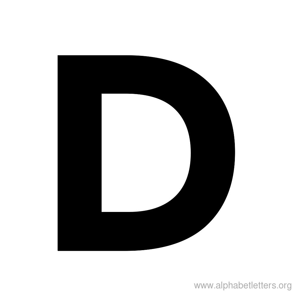block lettering template