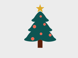 Christmas vector graphics clipart best for Cute christmas tree drawing