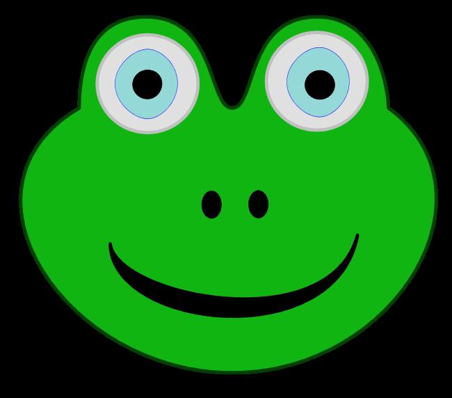 Frog Head Clipart Best