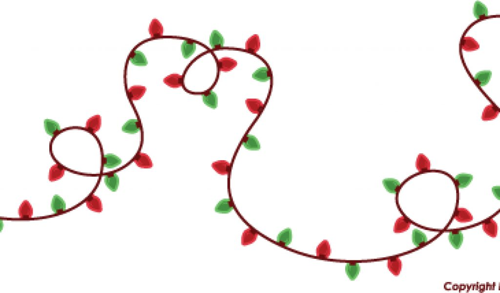 Christmas lights clipart jpg