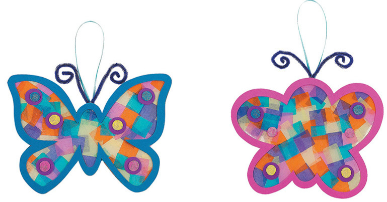 Butterfly crafts clipart best for Butterfly art and craft