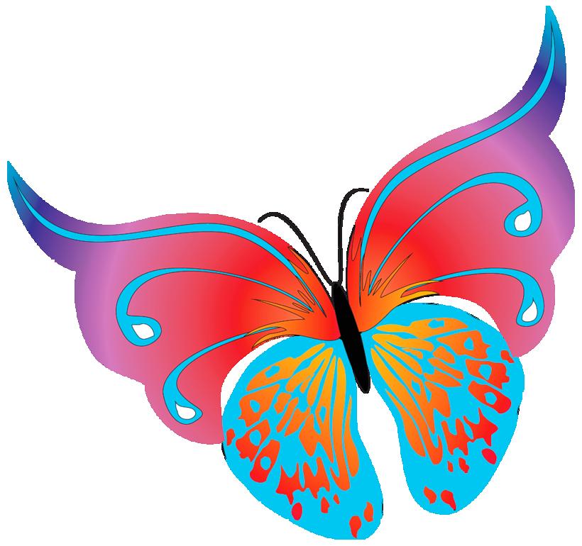 Free Clipart Of Butterflies - ClipArt Best