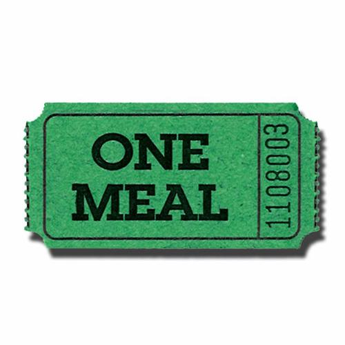 Sample Meal Ticket Template ClipArt Best – Free Meal Ticket Template