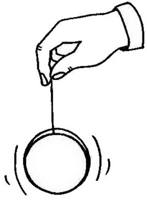 Yogurt Line Drawing : Yoyo clipart black and white best