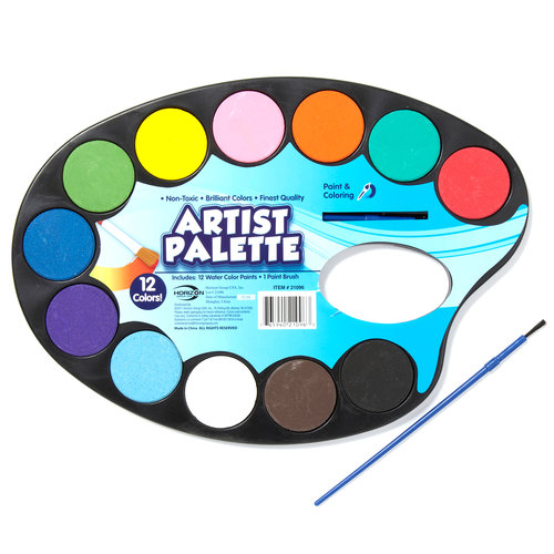 Paint brush and pallet clipart best for Walmart arts and crafts paint