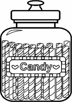 Candyland Coloring Pages - ClipArt Best