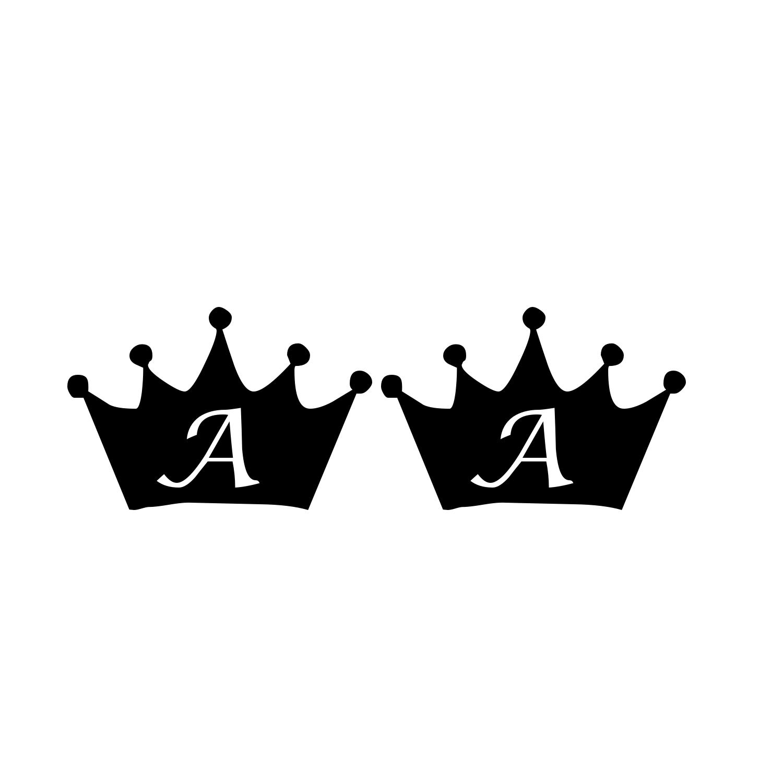 Stencil King Crown: Queen Crown Stencil