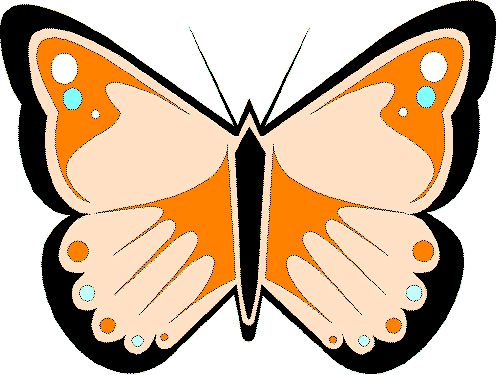 animated butterfly clipart free - photo #37