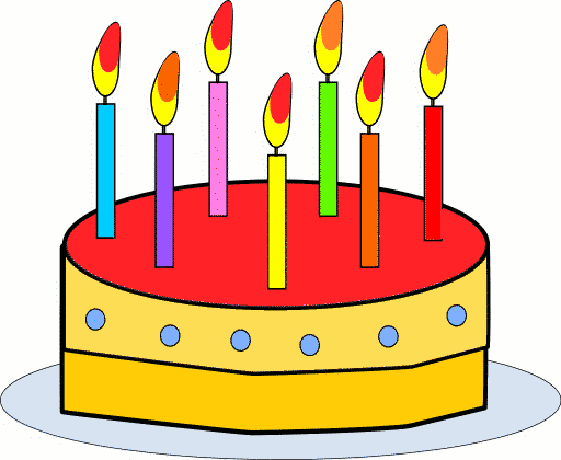 Birthday Cake Clip Art Free Animated - ClipArt Best