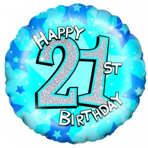 21st Birthday Balloons - 21st Balloon Delivery