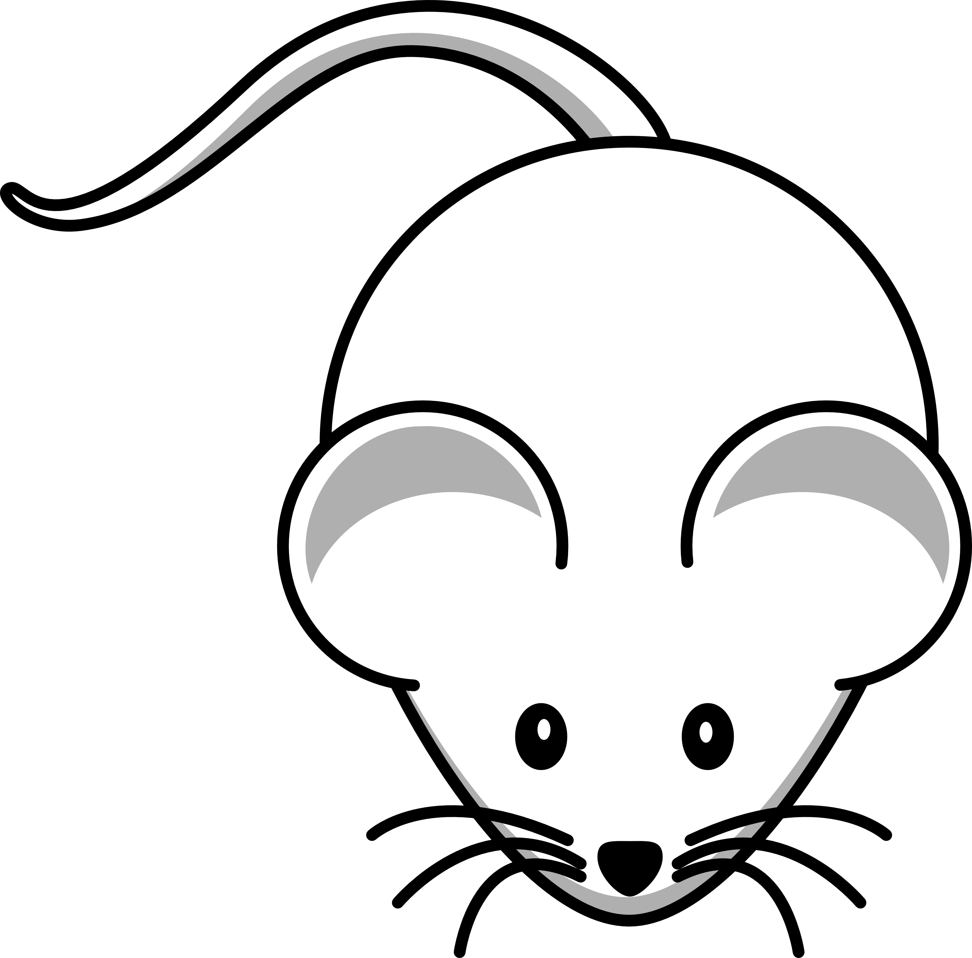 Books Line Drawing Clip Art Cring Book Mouse 1