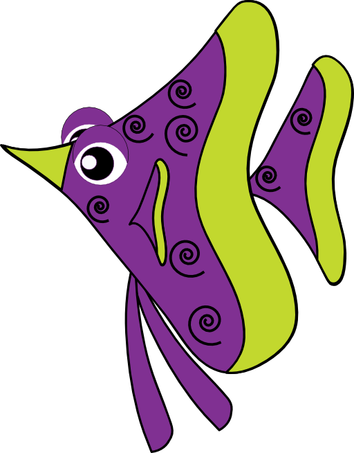 Purple Fish Clipart Royalty Free Public Domain Clipart ...
