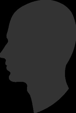 Head Profile Clipart Royalty Free Public Domain Clipart   256 x 381 png 8kB